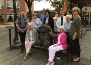 Teddy Bear Statue Sept 2021