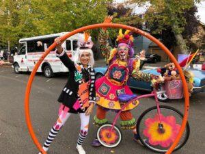 Teddy Bear Parade Clowns